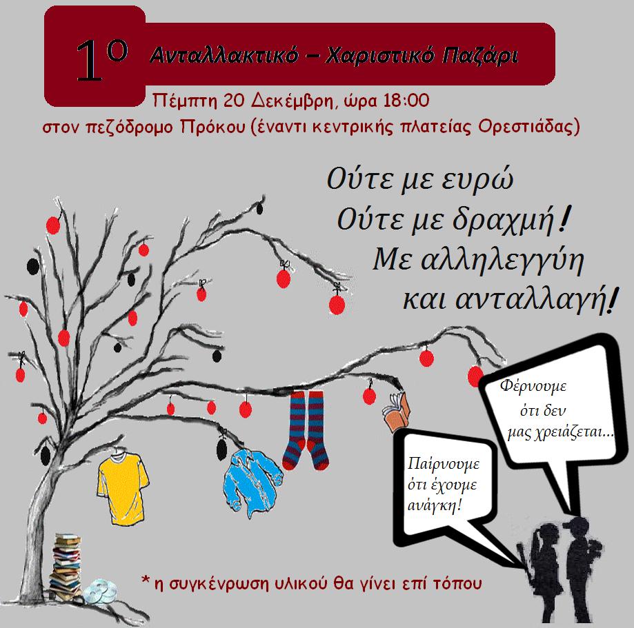 ΑΝΤΑΛΛΑΚΤΙΚΟ-ΧΑΡΙΣΤΙΚΟ ΠΑΖΑΡΙ